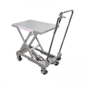 Meja angkat keluli tahan karat BSA10 aluminium / manual