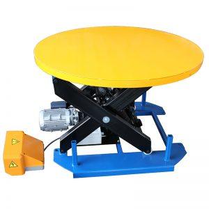Meja angkat pegun HRL1000 dengan piring putar karusel