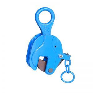 Pengapit plat menegak ICDH08 dengan pemegang kunci