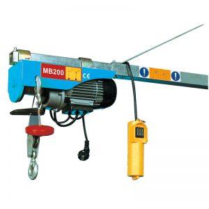 MB200 Mini Electric Hoist, pengangkat tuas elektrik