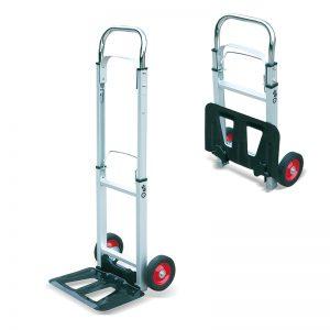 AT90 Troli Troli Pengangkutan Lori Berat Lipat Aluminium Portable