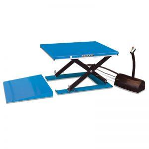 Meja angkat elektrik profil rendah HY1001